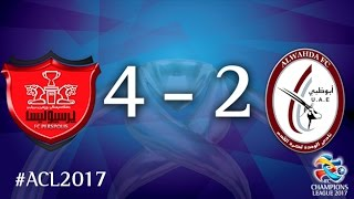 Persepolis vs Al Wahda (AFC Champions League 2017: Group Stage – MD6) 2017 Video