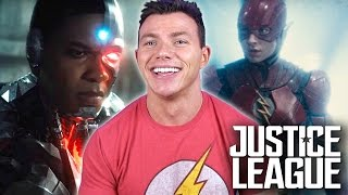 JUSTICE LEAGUE - Movie Trailer Review