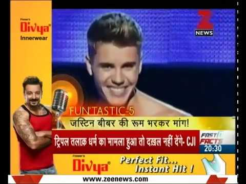 Fun Ki Baat   R J Raunac's comical dig on Justin Bieber's concert