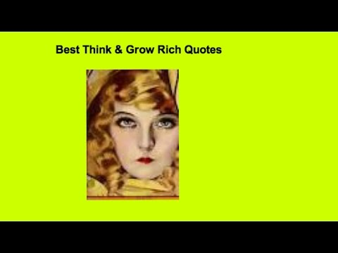 Prosperity Quotes - Think & Grow Rich and As A Man Thinketh - Read by Juhli Jansen