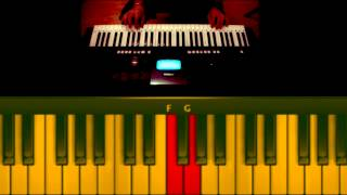 saree ke fall sa-R Rajkumar-(keyboard tutorial)