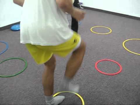 basket ball football  tennis  coordination training in OCO system -Wertheim Academy