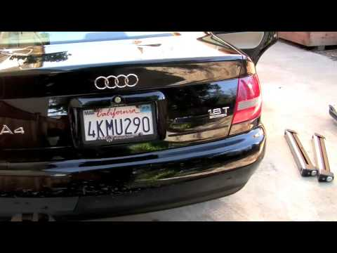 2000 Audi A4 Quattro 1.8T 4-Door Sedan - YouTube