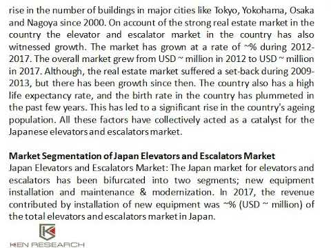 Competition Japan Elevators and Escalators Industry - Ken Research