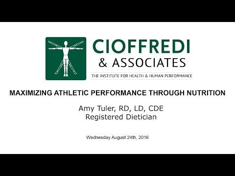 Maximizing Athletic Performance Through Nutrition