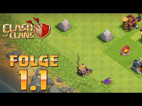 Let's Play CLASH OF CLANS ☆ Folge 1.1