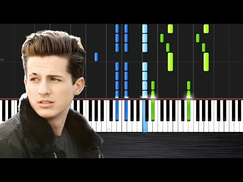 Charlie Puth - Marvin Gaye ft. Meghan Trainor - Piano Cover/Tutorial by PlutaX - Synthesia
