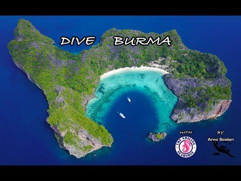 DIVE BURMA (Myanmar). Plongez en Birmanie.