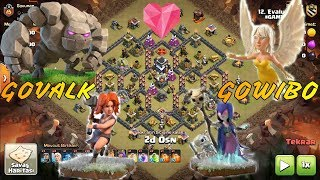 How to 3 star this common TH9 base using GOVALK and GOWIBO(Explained in detail)(Clash of Clans/COC)