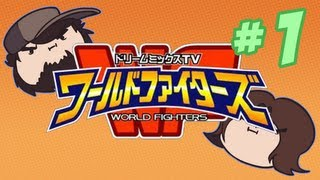 Game Grumps VS - Dream Mix TV World Fighters - PART 1