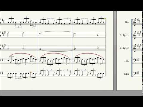 Knights of Cydonia - Muse: Brass Quintet Arrangement