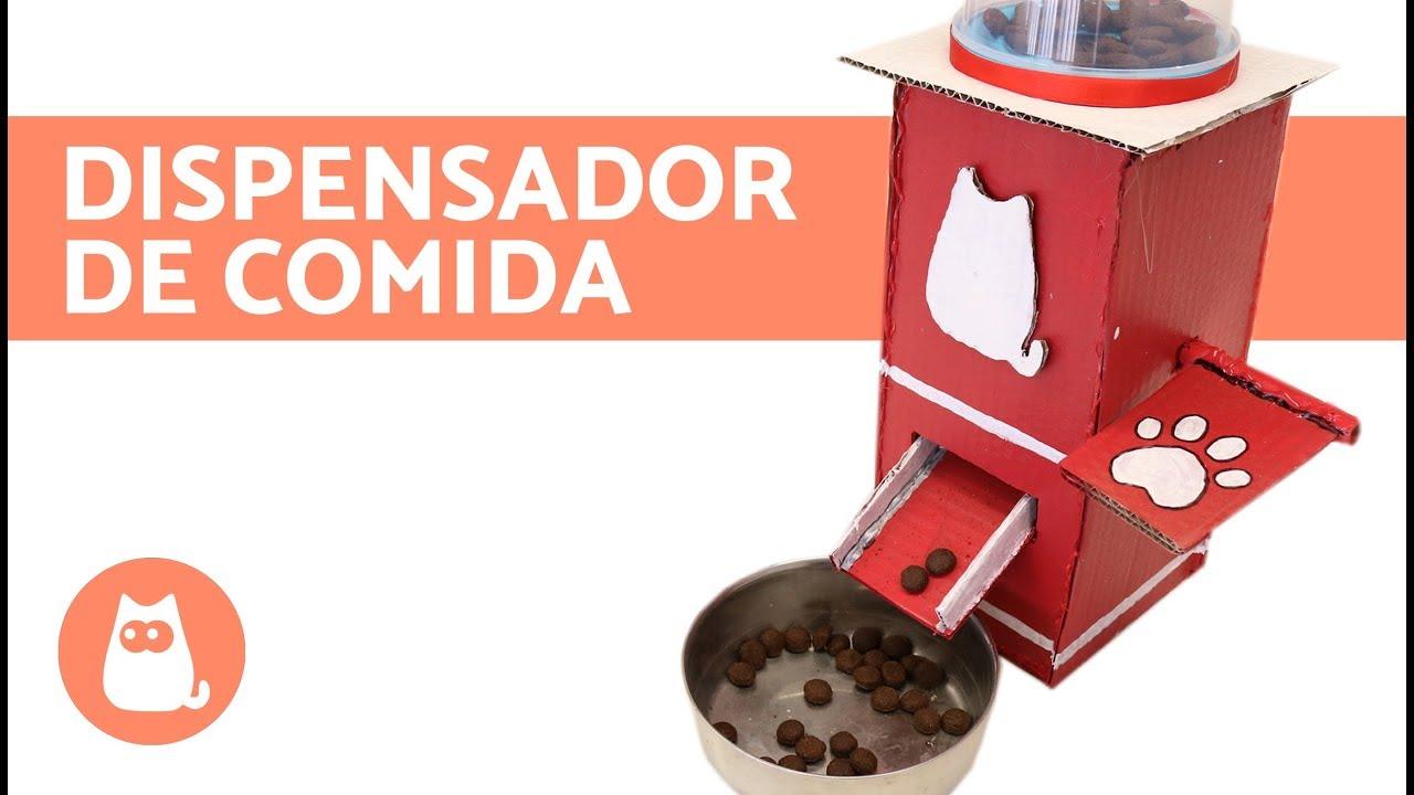 Dispensador de comida para perros casero youtube for Dispensador de comida para perros