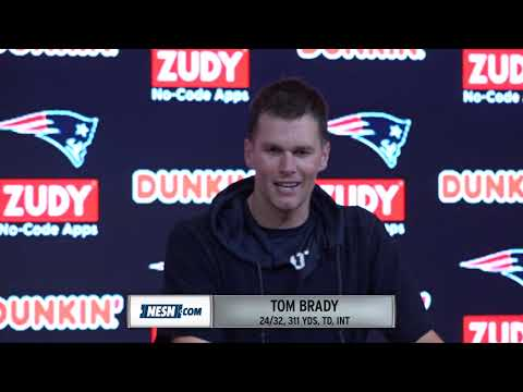 Tom Brady Patriots Vs. Vikings Week 13 Postgame Press Conference