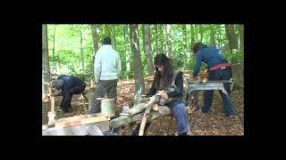 Строительство Круглый Лес Деревянным Каркасом 1(Бен Ло — обычный английский плотник — жил в вагончике на опушке леса и ничто не предвещало беды. Но задумал..., 2013-10-01T10:14:25.000Z)