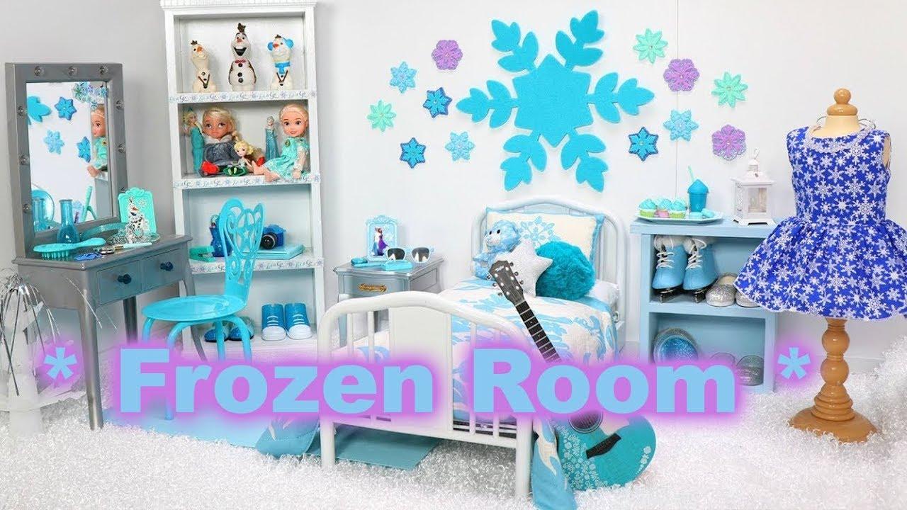 Quarto Da Elsa Decoração Tema Frozen Frozen Room Youtube