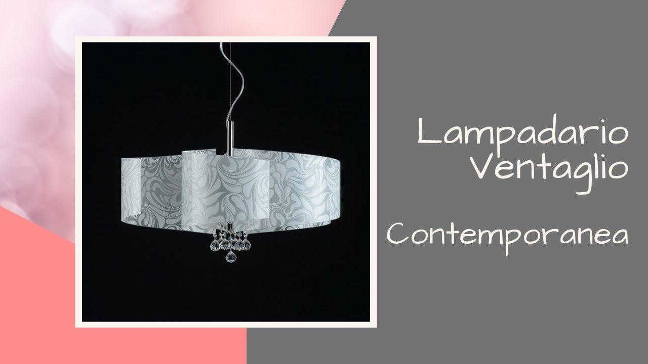 Scopri il lampadario ventaglio di contemporanea youtube for Lampadario ventaglio