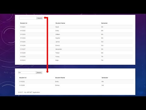How To Implement Search Functionality In ASP.NET MVC