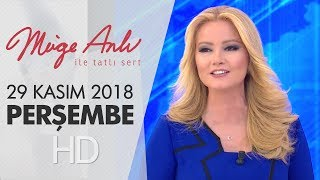 Müge Anlı İle Tatlı Sert 29 Kasım 2018 | Perşembe