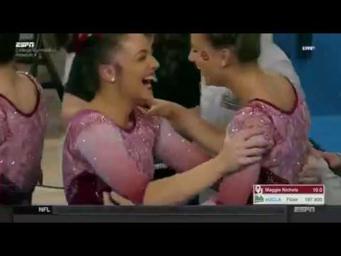 Maggie Nichols (Oklahoma) 2018 Beam vs UCLA 10.0
