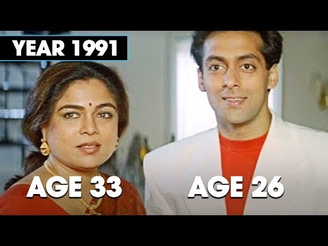 SHOCKING! Age Difference between Reema Lagoo and her children in movies