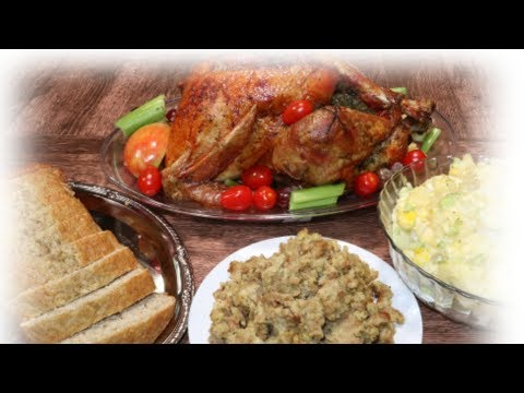 How to bake thanksgiving turkey & Stuffing | SE1 EP7| Cooking with Ngozi