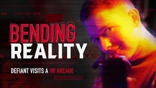 Defiant Visits A VR Arcade