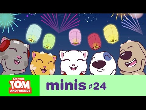 download Talking Tom and Friends Minis - New Year's Wishes (Episode 24)