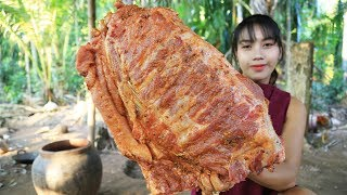 Yummy cooking BBQ Pork ribs recipe - Cooking skill