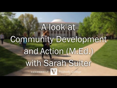 A look at Community Development Action (M.Ed.) with Sarah Suiter