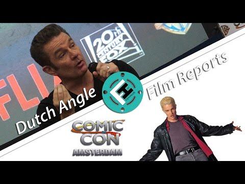 Comic Con Amsterdam - James Marsters Panel (DAFR)