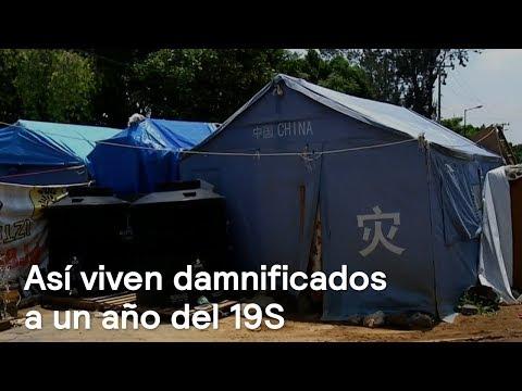 Cómo viven damnificados del 19S en Iztapalapa y Xochimilco - Despierta con Loret