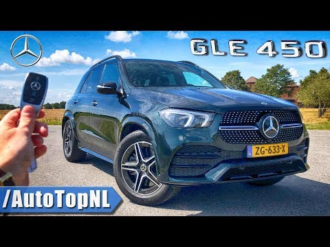 2020 Mercedes Benz GLE 450 AMG Line | REVIEW POV on AUTOBAHN & ROAD by AutoTopNL