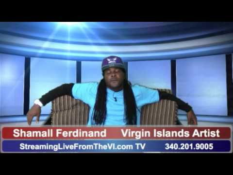 "Virgin Islands Artist Shamall Ferdinand - His New Song ""UpSide Down""   2.9.16"