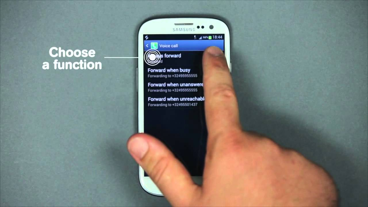 How to configure and use Call Forwarding with Android ...