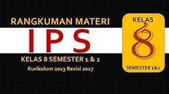 IPS Kelas 8 smp Kurikulum 2013 Semester 1 dan 2