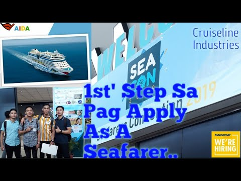 HOW TO APPLY IN CRUISELINE INDUSTRIES (STEP BY STEP ON MANNING AGENCY)