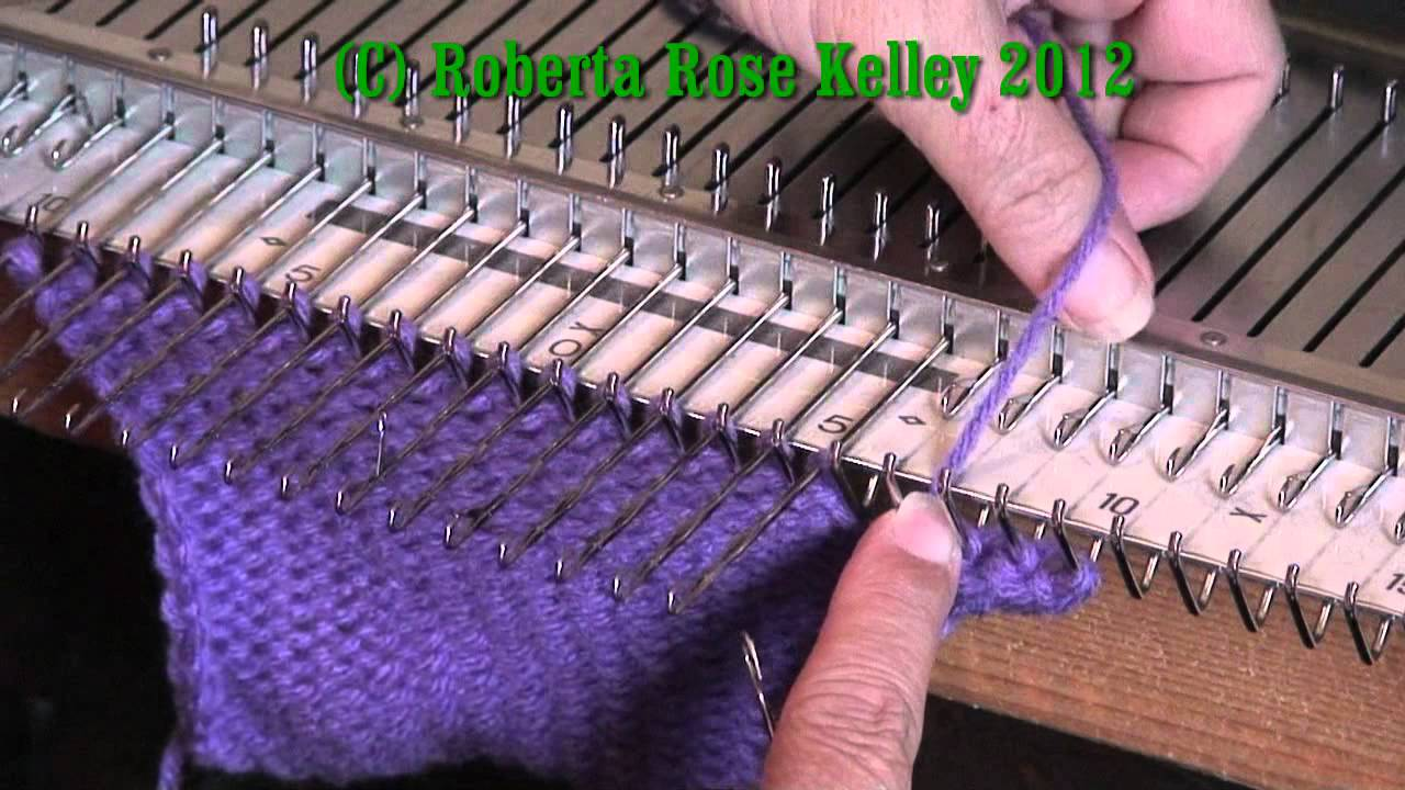 Knitting Casting Off Loosely : Looser latch tool cast on and bind off youtube