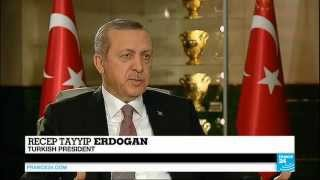 "Erdogan reacts on downed Russian plane on FRANCE24: ""Putin has not returned my call"""