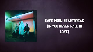 Wolf Alice - Safe From Heartbreak if you never fall in love (Lyrics)