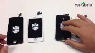 Дисплей для iPhone 5 и iPhone 5S. Купить дисплей iPhone 5S.(Оригинальный дисплей и экран для iPhone 5 и iPhone 5 от магазина YODAMOBILE. Обзор и сравнение экрана и дисплея на iPhone..., 2014-12-04T21:28:00.000Z)