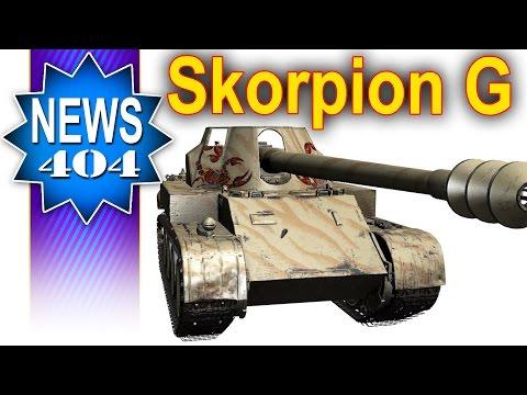Nowa ósemka premium - Skorpion G - NEWS - World of tanks