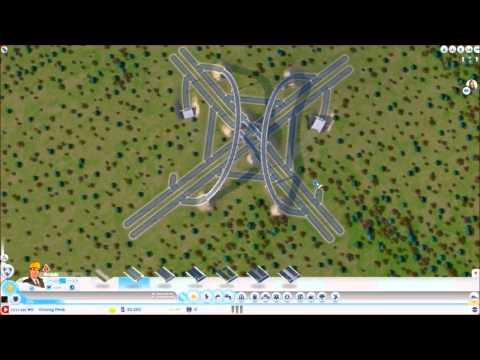 How to Make an In-town Highway - Episode 1 (Sim City 2013)
