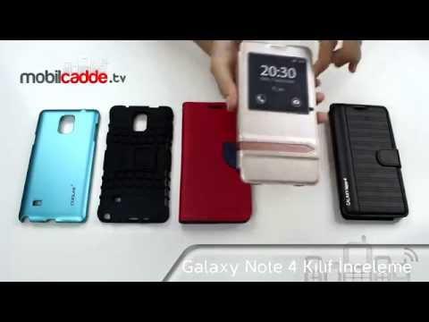 Samsung Galaxy Note 4 Kılıf İnceleme