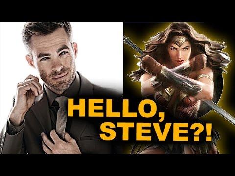 Chris Pine circles Steve Trevor in Wonder Woman 2017 - Beyond The Trailer