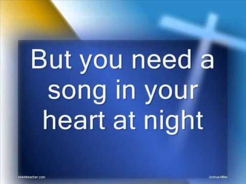 You Can Have A Song In Your Heart Worship  With Lyricswmv