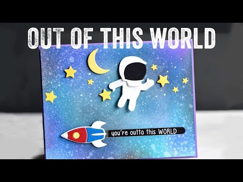 Out of this World Slider Cards