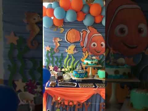 JL's DIY Creations :: FINDING NEMO THEME BIRTHDAY