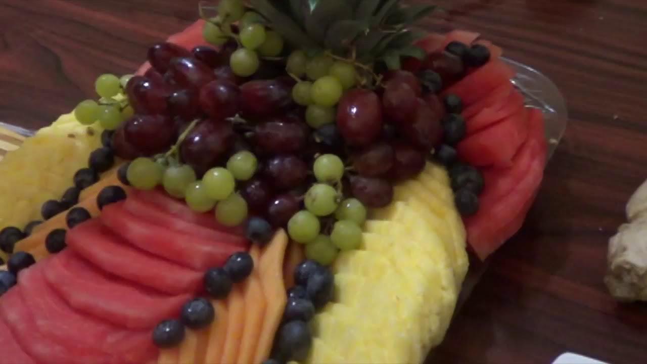 C mo hacer un platon de fruta picada para una fiesta 2 for Como secar frutas para decoracion