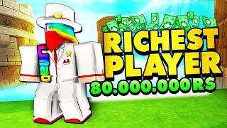 Worlds Richest ROBLOX Player... (80.000.000 R$)