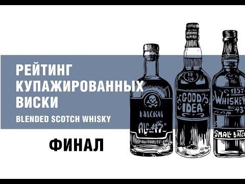 Рейтинг купажированных шотландских виски. ФИНАЛ.